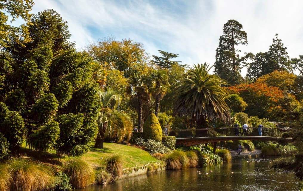 Christchurch's Botanic Gardens.